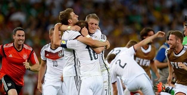 La gioia della Germania
