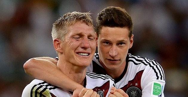 Il pianto di gioia tedesco