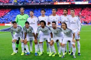 <> at Camp Nou on October 26, 2013 in Barcelona, Spain.