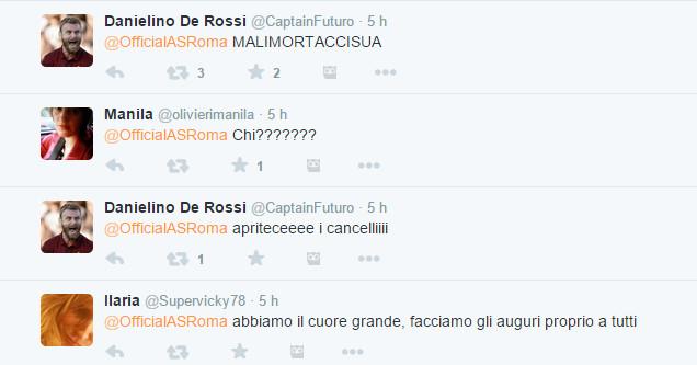 La reazione dei tifosi della Roma -3