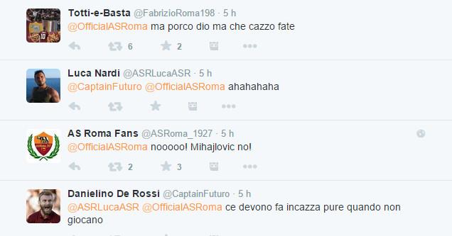 La reazione dei tifosi della Roma - 2