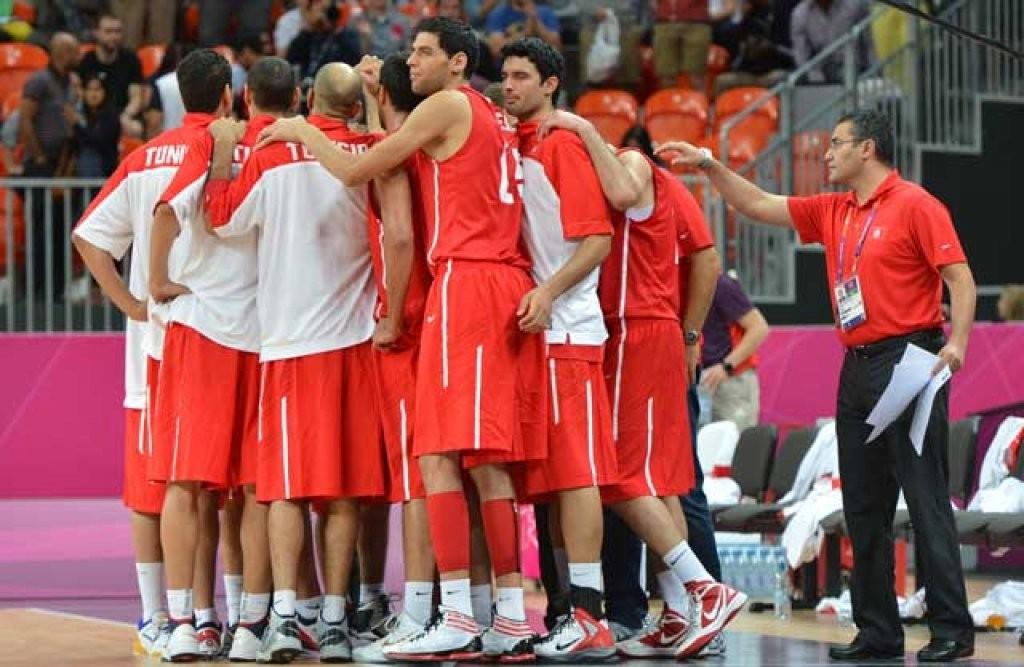 Nazionale Tunisia basket