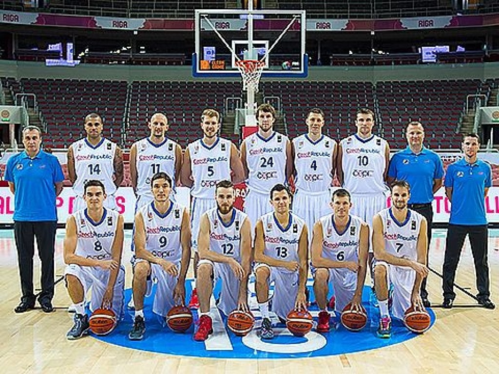 Nazionale Rep.Ceca basket