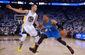 Russell Westbrook vs Stephen Curry