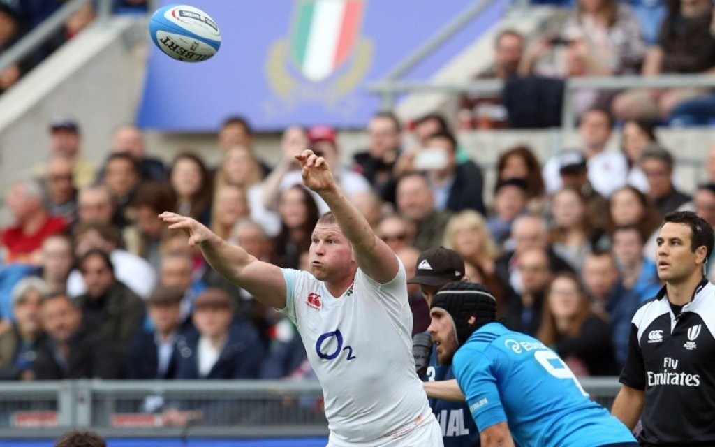 Italy v England, RBS 6 Nations, Rugby Union, Stadio Olimpico, Rome, Italy - 14 Feb 2016