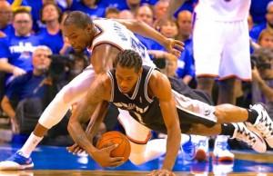 Durant vs Leonard