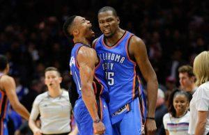 Westbrook e Durant