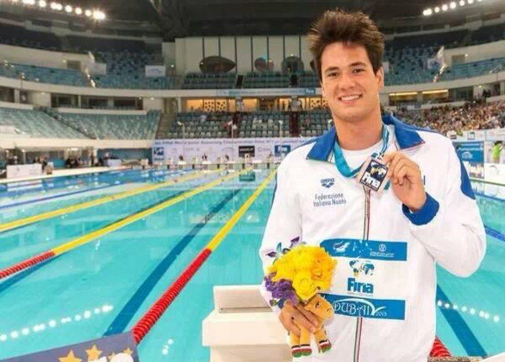 Andrea-Mitchell-DArrigo-nuoto-foto-facebook